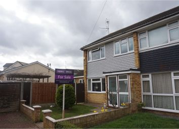 Thumbnail 3 bed end terrace house for sale in Bramble Road, Leigh-On-Sea