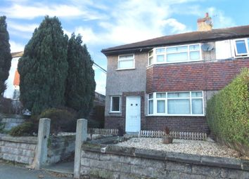Thumbnail 3 bed semi-detached house to rent in Quarry Road East, Bebington, Wirral