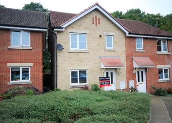 Thumbnail 3 bed semi-detached house for sale in Cygnet Court, Spalding