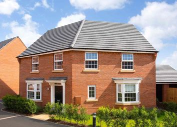 """Thumbnail 4 bedroom detached house for sale in """"Ashtree"""" at Grange Road, Hugglescote, Coalville"""