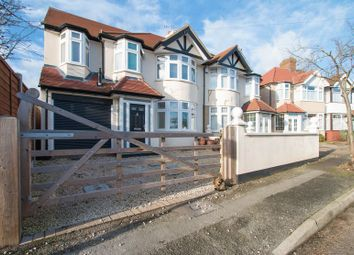 Thumbnail 4 bed property for sale in Haslam Avenue, North Cheam, Sutton
