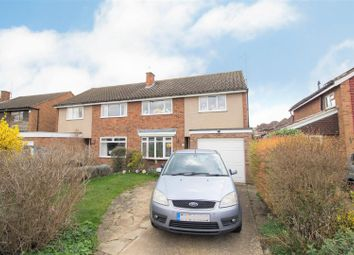 Thumbnail 3 bed semi-detached house for sale in Brendon Avenue, Bedford