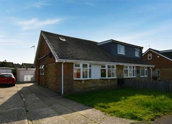 Thumbnail 3 bed semi-detached bungalow for sale in Summergangs Drive, Thorngumbald, Hull, East Riding Of Yorkshire
