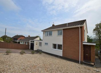 Thumbnail 3 bedroom detached house for sale in Okefield Road, Crediton, Devon