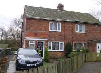 Thumbnail 2 bed semi-detached house for sale in Moor View, Camperdown, Newcastle Upon Tyne