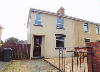 Thumbnail 3 bed semi-detached house to rent in Badminton Grove, Ebbw Vale