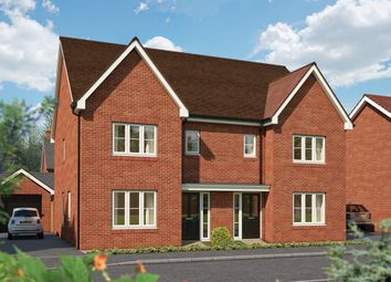 "Thumbnail 3 bedroom semi-detached house for sale in ""The Cypress"" at Hadham Road, Bishop's Stortford"