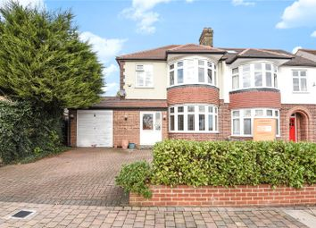 Thumbnail 3 bed semi-detached house for sale in Ringwood Way, Winchmore Hill, London