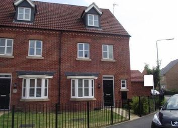 Thumbnail 4 bed terraced house for sale in Montague Way, Chellaston, Derby, Derbyshire