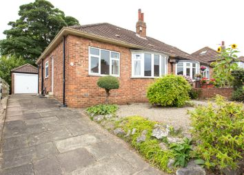 Thumbnail 2 bed semi-detached bungalow for sale in High Moor Drive, Leeds, West Yorkshire