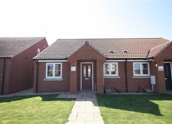 Thumbnail 2 bed semi-detached bungalow for sale in Bramley Way, Misterton, South Yorkshire