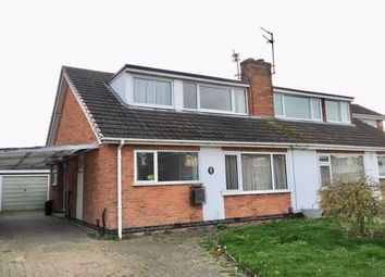Thumbnail 3 bed bungalow to rent in Thirlmere Road, Loughborough, Leicestershire