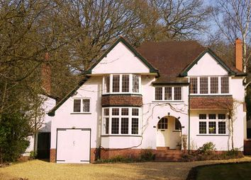 Thumbnail 4 bed detached house to rent in Walsall Road Little Aston, Sutton Coldfield