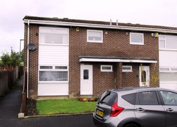 Thumbnail 3 bed link-detached house for sale in Burnstones, West Denton, Newcastle Upon Tyne