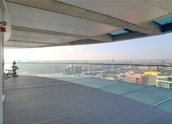 Thumbnail 3 bedroom flat for sale in Arena Tower, Crossharbour Plaza, London