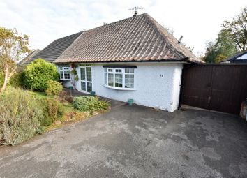 Thumbnail 2 bed semi-detached bungalow for sale in Hawton Crescent, Wollaton, Nottingham