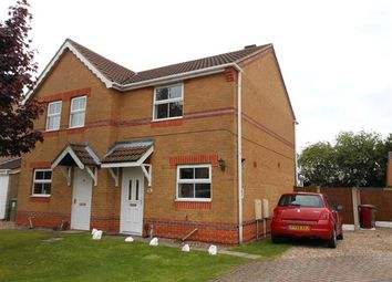 Thumbnail 2 bed semi-detached house to rent in Jesmond Avenue, Bottesford, Scunthorpe
