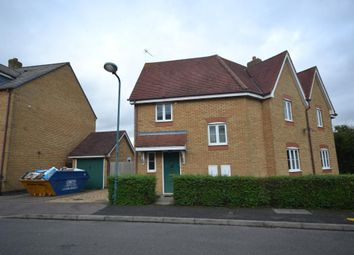 Thumbnail 3 bed semi-detached house to rent in Stoneleigh Court, Westcroft, Milton Keynes, Buckinghamshire