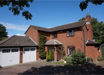Thumbnail 4 bed detached house for sale in Weggs Farm Road, Duston, Northampton