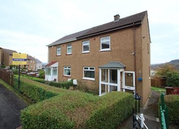 Thumbnail 2 bed semi-detached house for sale in Hillend Place, Greenock, Inverclyde
