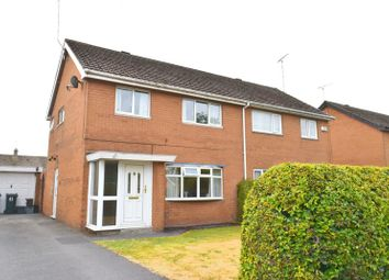 Thumbnail 3 bed semi-detached house for sale in Highfield Road, Blacon, Chester