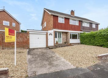 Thumbnail 3 bed semi-detached house for sale in Tupsley, Hereford