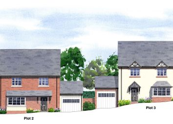 Thumbnail 4 bed detached house for sale in Sparrowhall Lane, Powick, Worcester