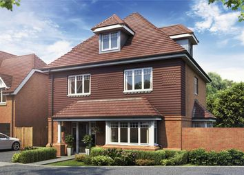 Thumbnail 4 bed detached house for sale in Epsom Road, Guildford, Surrey
