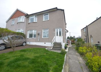 Thumbnail 3 bed flat for sale in Croftburn Drive, Glasgow
