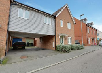 Thumbnail 3 bed link-detached house for sale in Temple Way, Rayleigh