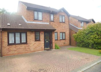 Thumbnail 4 bed detached house to rent in Leafield Rise, Two Mile Ash, Milton Keynes
