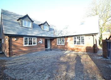 Thumbnail 4 bed detached house for sale in Kingsland Lane, Leavenheath, Colchester