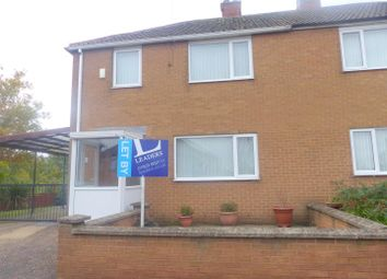Thumbnail 3 bed semi-detached house to rent in Windy Ridge, Warsop, Mansfield