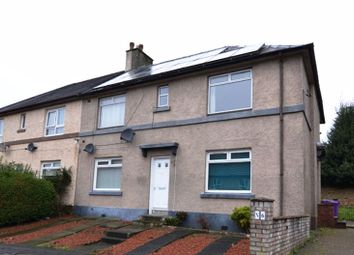 Thumbnail 2 bed flat for sale in Winton Avenue, Kilwinning