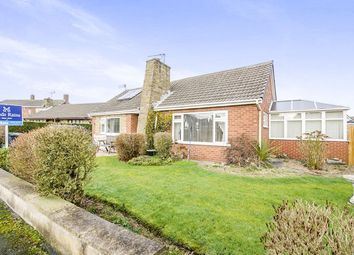 Thumbnail 3 bed bungalow for sale in Norman Close, Thorpe Willoughby, Selby