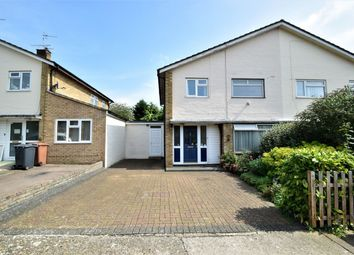 Thumbnail 3 bed semi-detached house for sale in Rookwood Drive, Longmeadow B, Stevenage, Hertfordshire