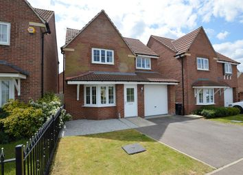 Thumbnail 3 bed detached house for sale in Windlass Drive, Wigston, Leicester