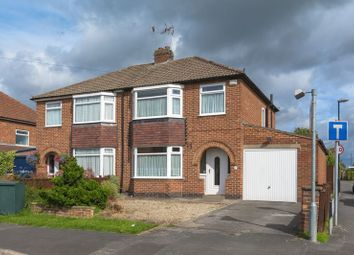 Thumbnail 3 bed semi-detached house for sale in Manor Park Road, Rawcliffe, York