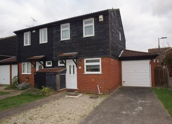 Thumbnail 2 bedroom semi-detached house for sale in Bowbank Close, Shoeburyness, Southend-On-Sea