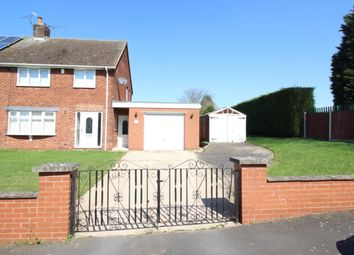 Thumbnail 3 bed semi-detached house for sale in Sitwell Road, Worksop