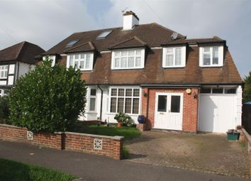 Thumbnail 5 bedroom semi-detached house for sale in Waverley Road, Stoneleigh, Epsom