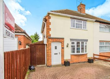 Thumbnail 3 bedroom semi-detached house for sale in Burleigh Avenue, Wigston, Leicester