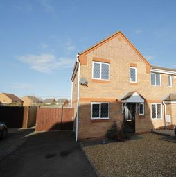 Thumbnail 3 bed end terrace house for sale in Daffodil Drive, Rushden