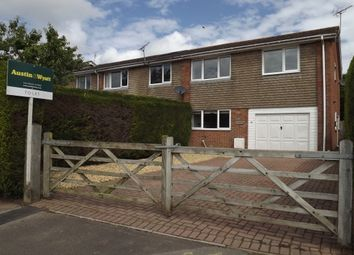 Thumbnail 4 bed end terrace house to rent in Hightown Gardens, Ringwood
