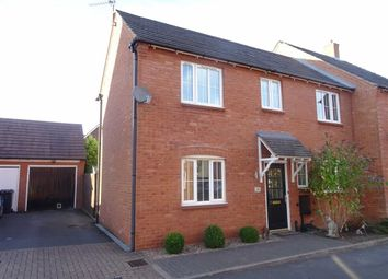 Thumbnail 3 bed semi-detached house for sale in Bunneys Meadow, Hinckley