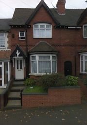 Thumbnail 4 bed terraced house to rent in Grafton Road, Handsworth, Birmingham