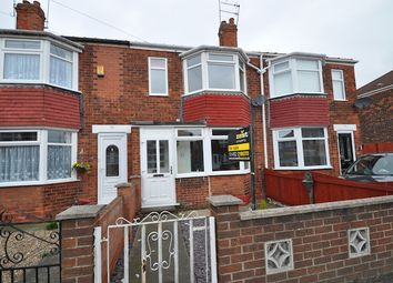 Thumbnail 3 bedroom terraced house for sale in Brendon Avenue, Hull