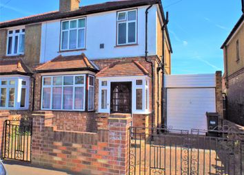 Thumbnail 3 bed semi-detached house for sale in Buckingham Avenue, Feltham