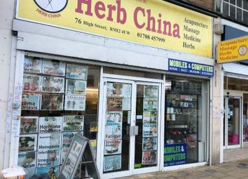 Thumbnail Retail premises for sale in 76 High Street, Hornchurch