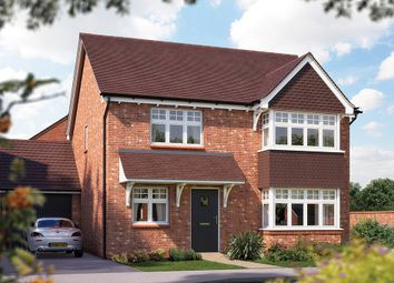 "Thumbnail 4 bed detached house for sale in ""The Canterbury"" at Crewe Road, Haslington, Crewe"